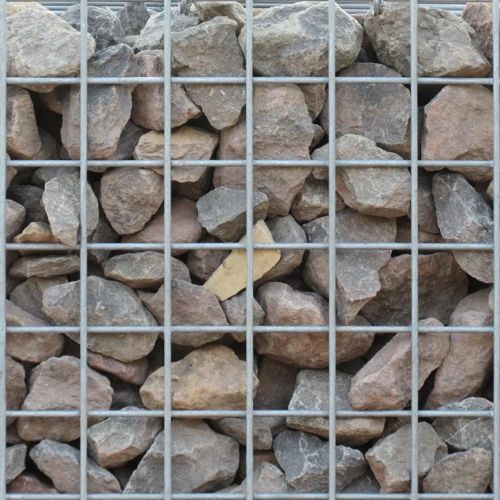 Basalt Braun Bruchsteine