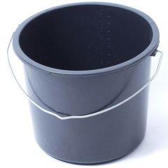 Eimer Kunststoff schwarz 12 Liter