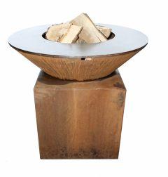 Rotonde Grill Feuertisch / Feuerschale