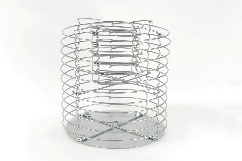 Design Gabionen Zylinder