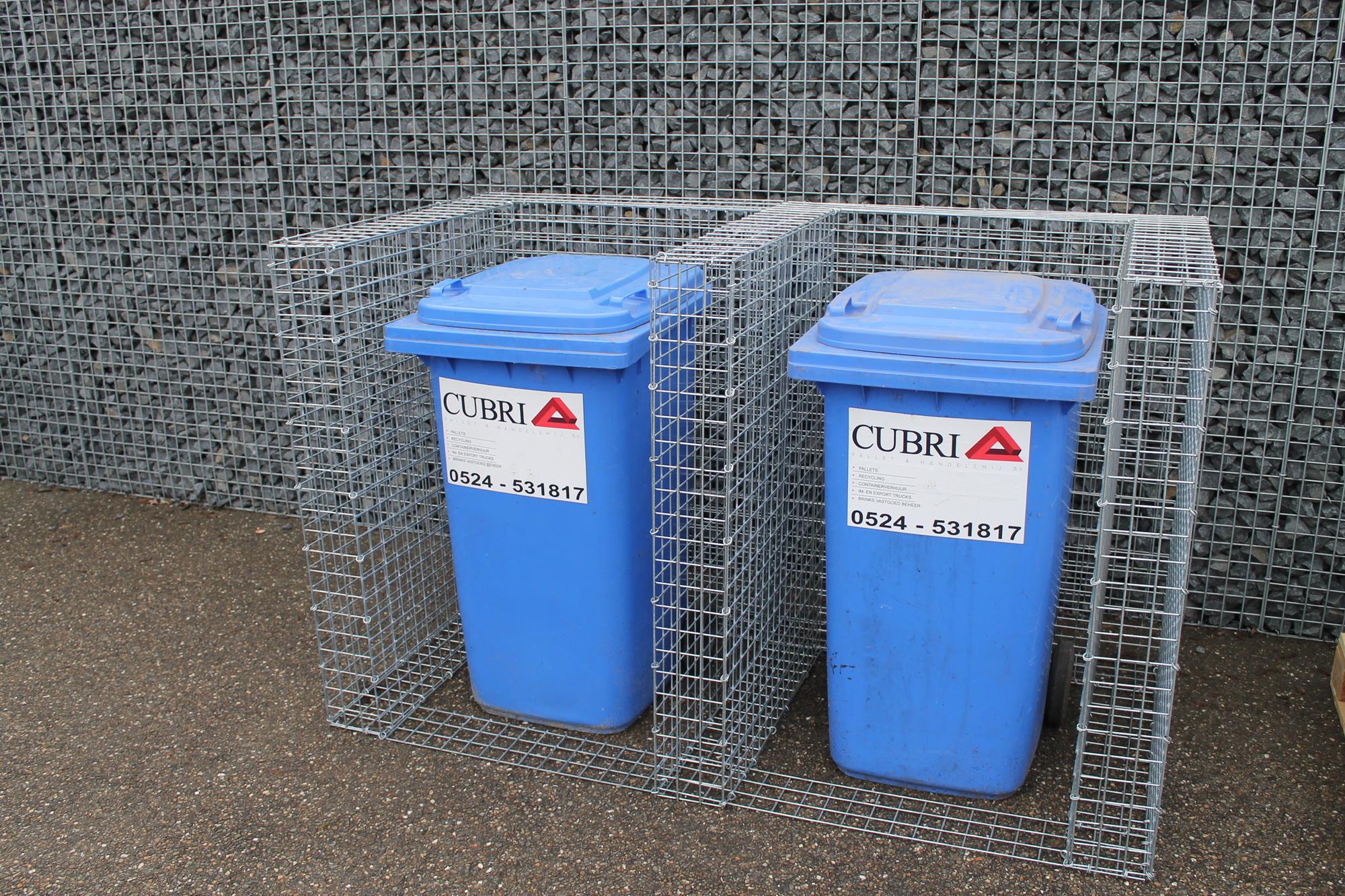 Mülltonnenboxen Duo mit anbau