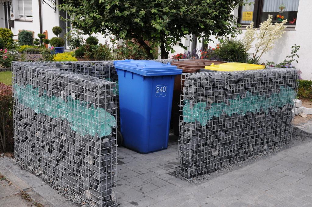 Mülltonnenbox nach mass