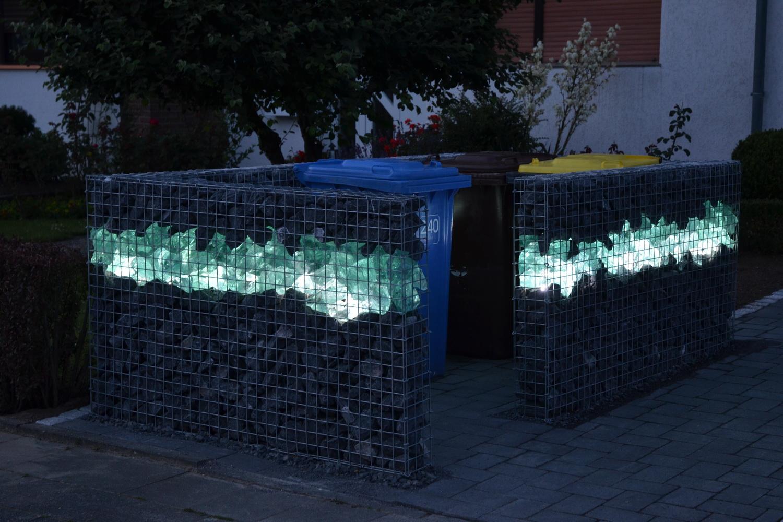 Beliebt LED Beleuchtung für Gabionen HX42