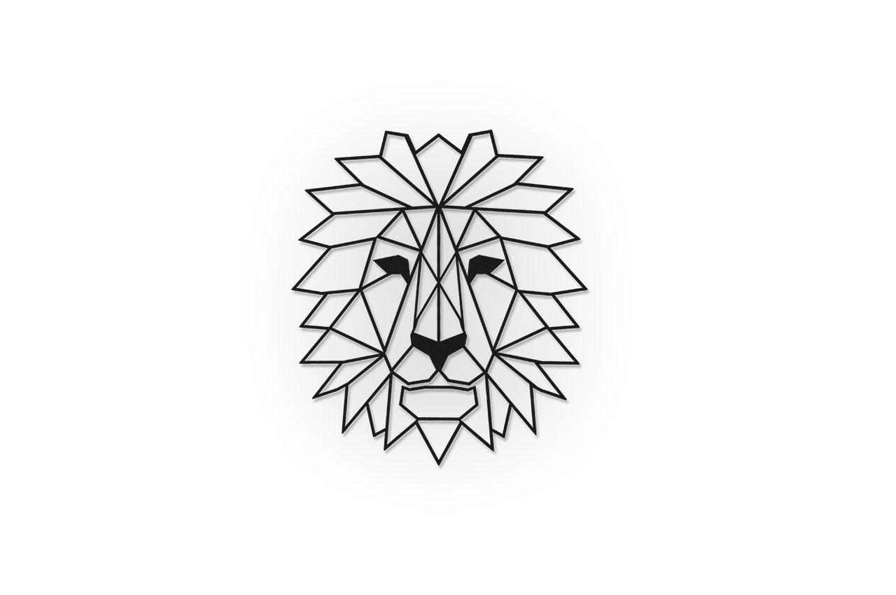 Leeuw schanskorf Decoratie