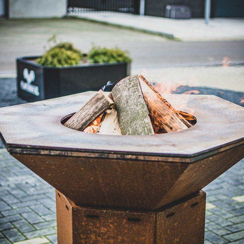Iron Fire 1000 Cortenstahl-Feuertisch