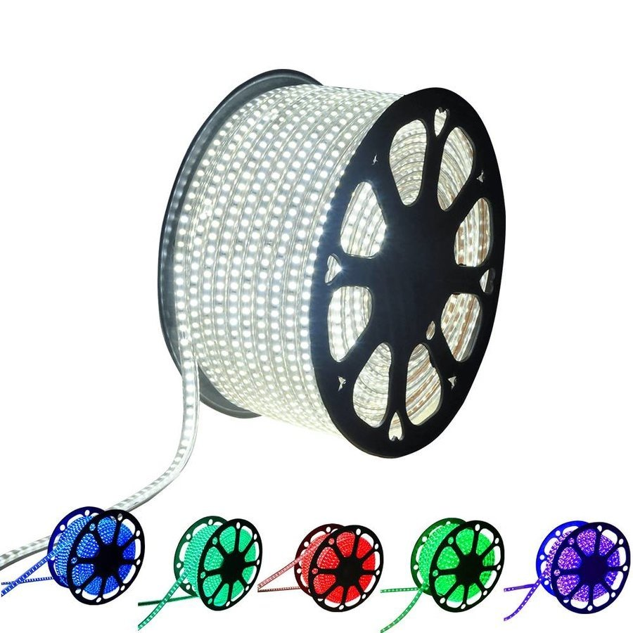 LED RGB Beleuchtung für Gabionen