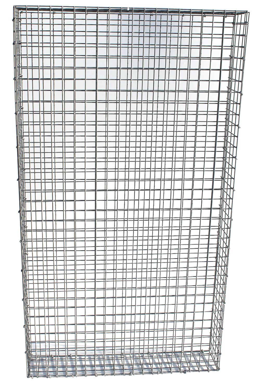 Standard Gabionenzaun 1m x 2m.