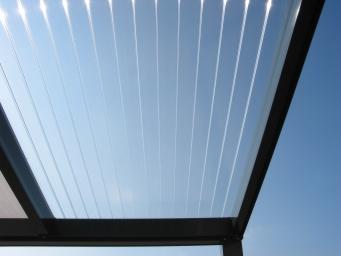 Dach-Blatt klar