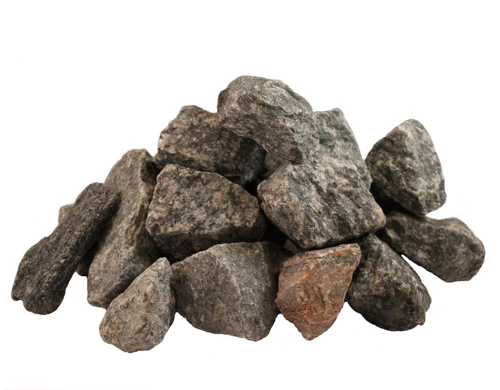 Gabionensteine Norwegen Granit