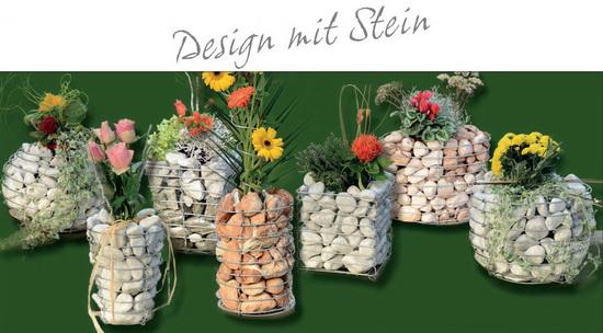 Design Steinkörbe