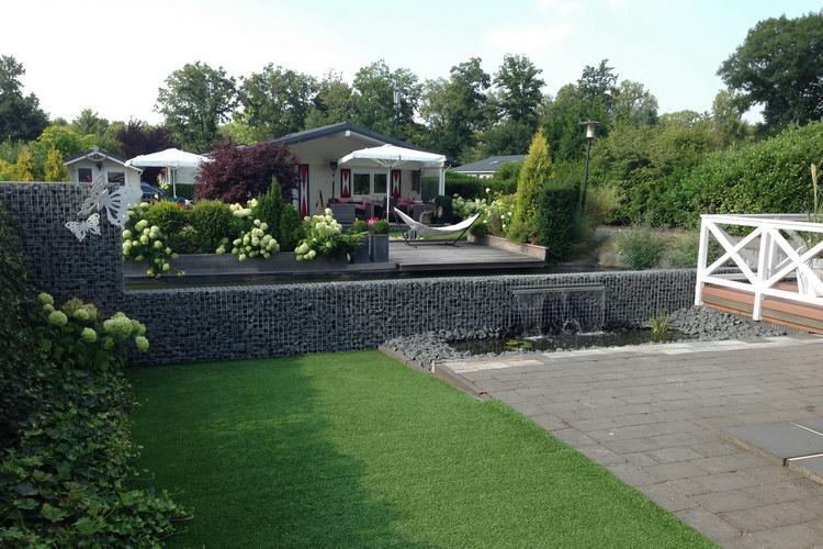 Garten Wasserfall in Ihre Gabionen integrieren| Gabinova